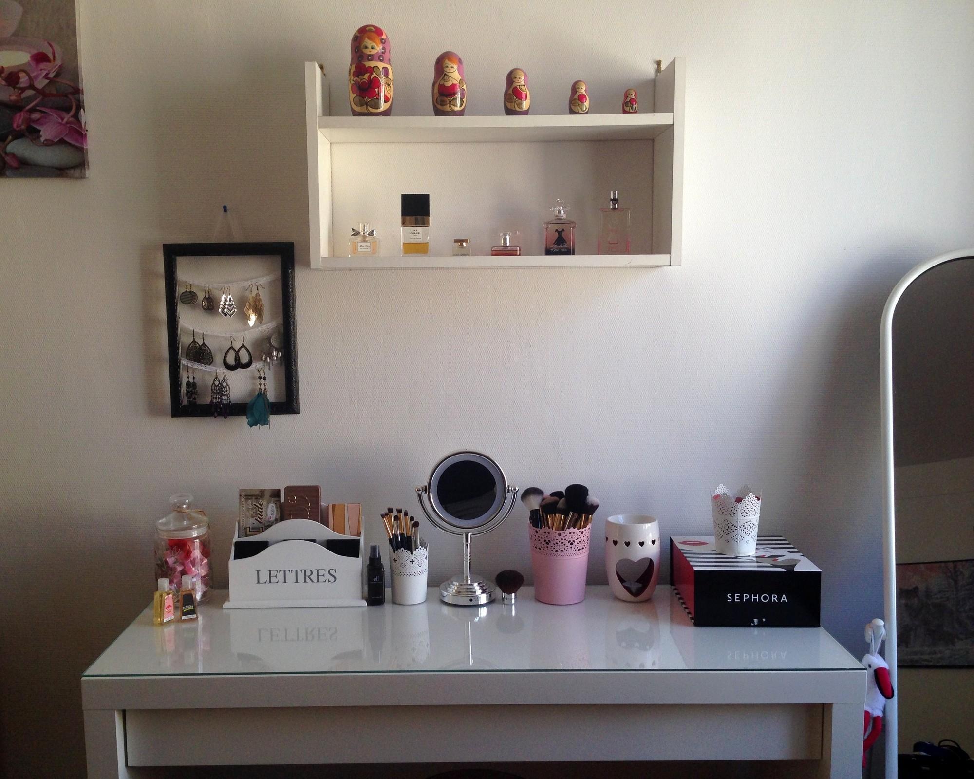 mon rangement maquillage purple dream blog beaut et lifestyle. Black Bedroom Furniture Sets. Home Design Ideas