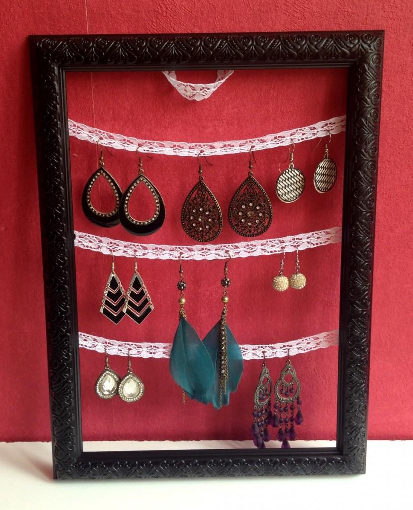 diy porte boucles d 39 oreilles purple dream blog beaut et lifestyle. Black Bedroom Furniture Sets. Home Design Ideas