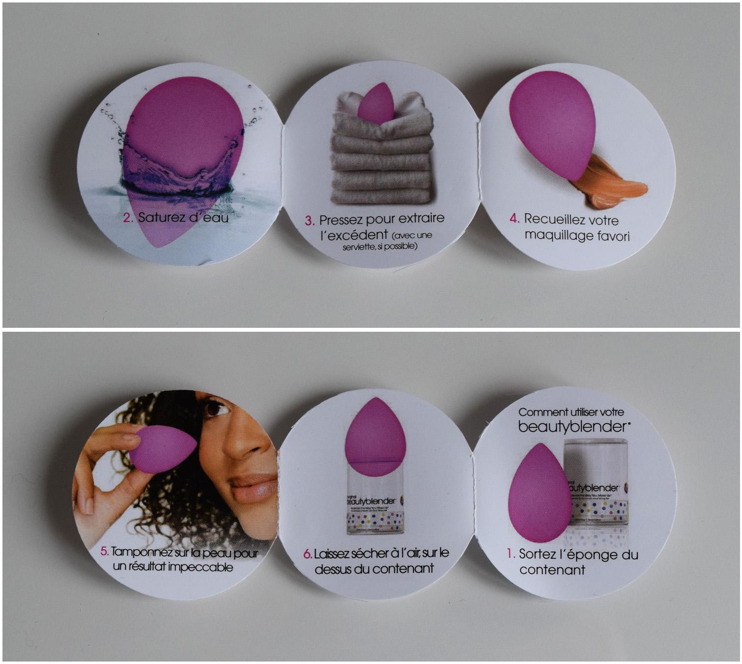 beauty blender utilisation po le cuisine inox. Black Bedroom Furniture Sets. Home Design Ideas
