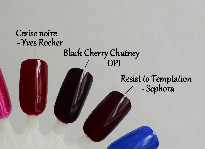 Sephora vernis la petite robe noire